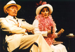 Catherine Rouvel as Mother, Robert Party as Vincent, Théâtre de l'Oeuvre, Paris 1991